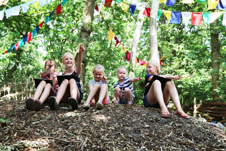 Kinderfeestje bij Land van Fluwel